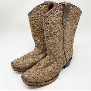Tanner Mark Glitter Western Boots 2